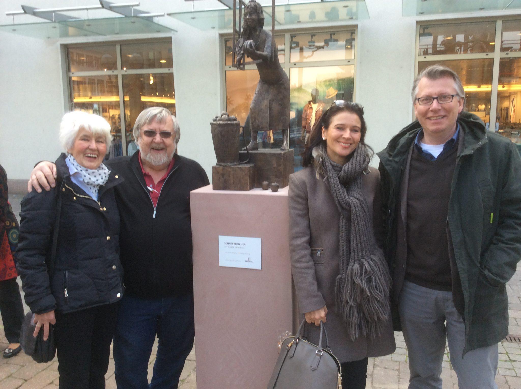 Barbara Nagel, Theophil Steinbrenner, Sabine Krempel und Martin Hoppe