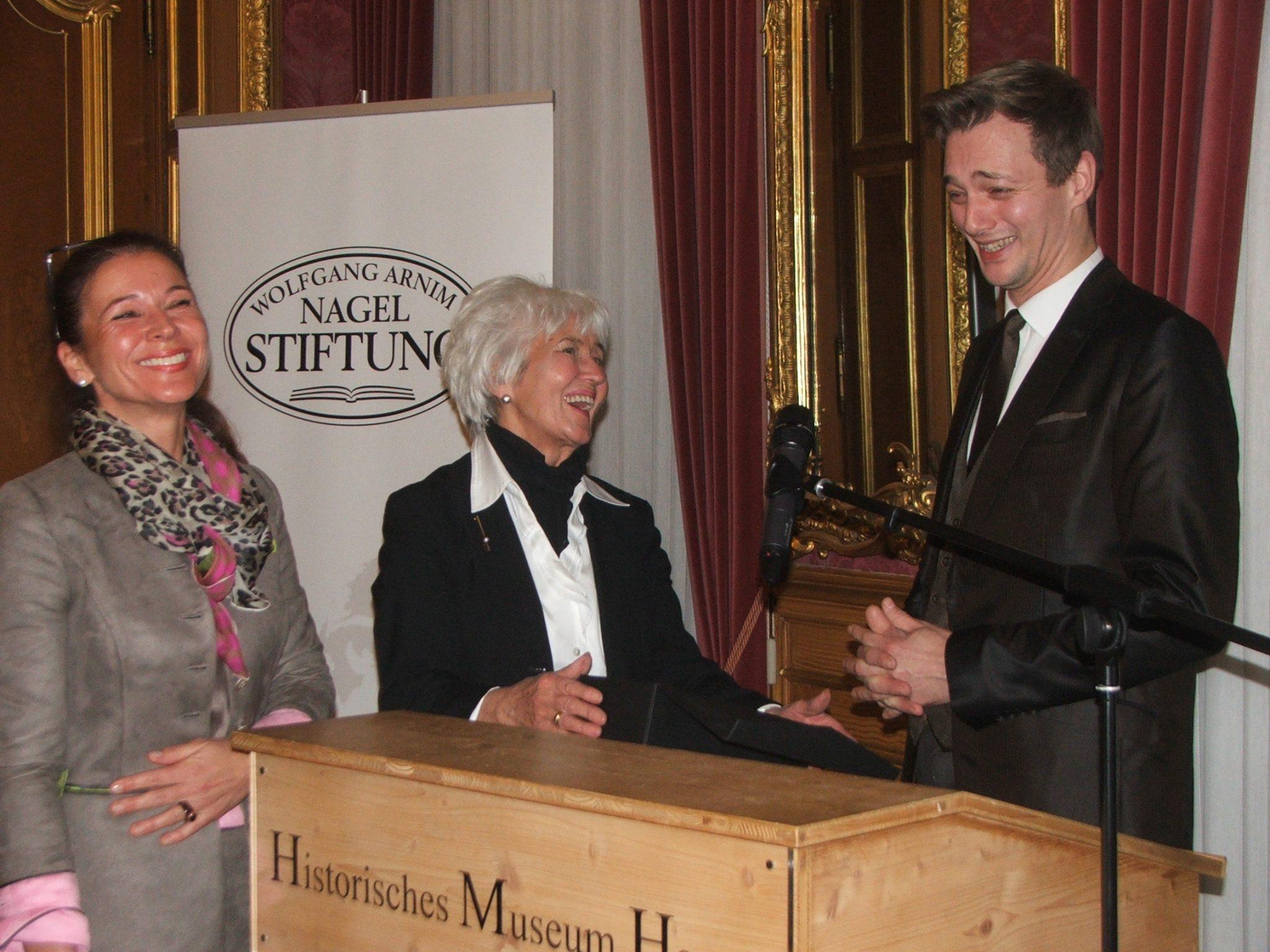 Sabine Krempel, Barbara Nagel und Patrick Dollmann