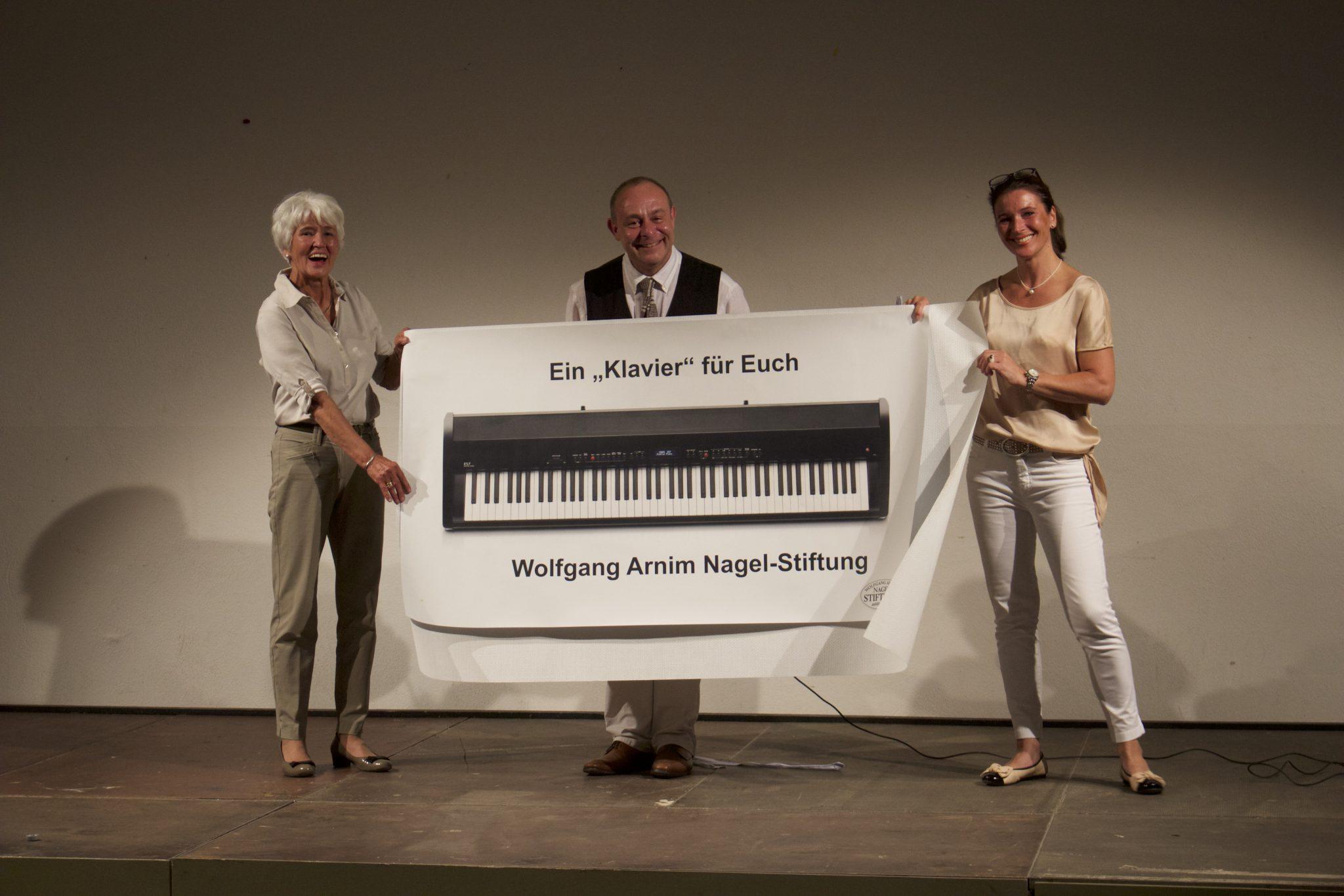 Barbara Nagel, Franz-Lorenz Engel und Sabine Krempel